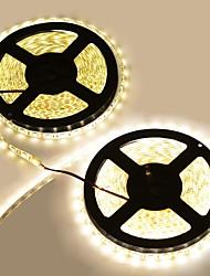 cheap -Waterproof 144W  600-5050 SMD LED 3300K 8400-Lumen Warm  White Light Decoration Strip Lights(10M-Length/DC 12)