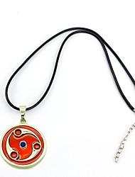abordables -naruto madara uchiha Mangekyo Sharingan aleación colgante de collar de cosplay