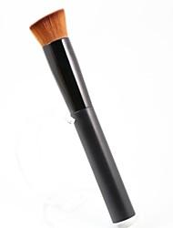 voordelige -1pcs Make-up kwasten professioneel Foundationkwast Synthetisch haar Grote kwast