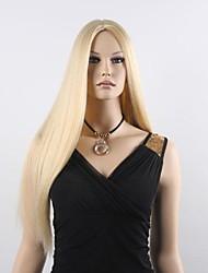 donne lunghi capelli morbidi parrucche sintetiche diritte