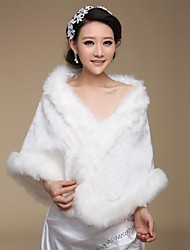 cheap -Faux Fur Wedding Party Evening Fur Wraps Wedding  Wraps Shawls