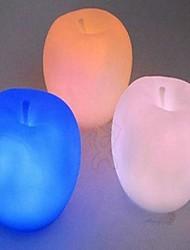 Недорогие -красочный небольшое яблоко ночник (цвета случайным)
