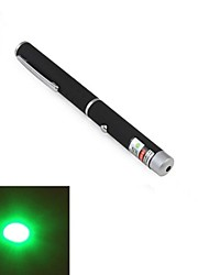 lt-011 Stiftform 1-Muster grünes Licht Laser-Pointer (1mw.532nm.2xaaa.black)