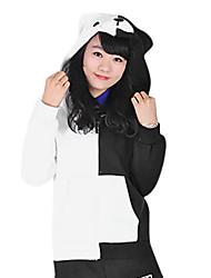 Недорогие -Вдохновлен Dangan Ronpa Monokuma видео Игра Косплэй костюмы Косплей вершины / дна Длинный рукав Пальто костюмы