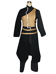 Inspired by Naruto Gaara Anime Cosplay Costumes Cosplay Suits Patchwork Long Sleeves Coat Vest Pants Belt For Male