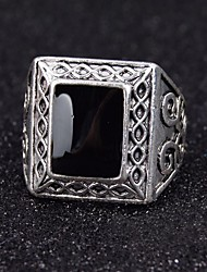 cheap -Men's Statement Ring Alloy Fashion Party Daily Casual Costume Jewelry