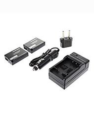 ismartdigi-Panasonic DMW-BLD10E x2 (1010mah, 7.2v) batterie de l'appareil + EU Plug + chargeur de voiture pour BLD10E gx1 GF2 g3 DMW-bld10