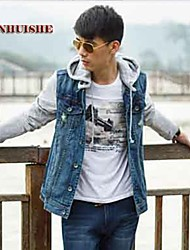 yhs®men denim jachete cu glugă Blazer 309
