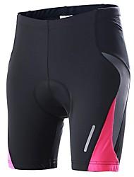 billiga Sport och friluftsliv-Outto Vadderade cykelbyxor Dam Cykel Shorts Vadderade shorts Underdelar Cykelkläder Snabb tork Anatomisk design Andningsfunktion 3D