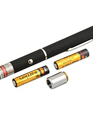 lt-8883 einstellbar brennenden grünen Stift Form Laser-Pointer (4mw.532nm.2xaaa.black)