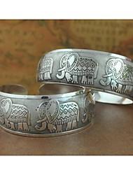 cheap -Women's Cuff Bracelet - Unique Design / Fashion Silver Bracelet For Christmas Gifts / Wedding / Party / Women's / Cuff Bracelet