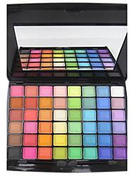 billige -48 farver Øjenskygger / Pudder Øjne Halloweenmakeup / Festmakeup / Rygende makeup Makeup Kosmetiske / Mat / Glans