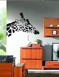 настенные наклейки наклейки для стен, украшение дома милый жираф цитирует росписи ПВХ стены стикеры