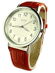 cheap -Women's Casual Watch PU Band Flower Black / Red / Brown
