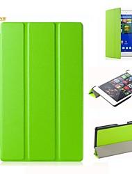 abordables -caso del soporte tímido oso ™ cubierta de cuero para Sony Tablet xperia z3 compacto de 8 pulgadas