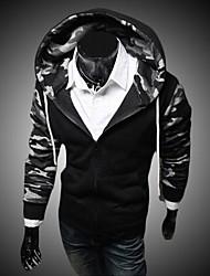 Pull à Capuche & Sweat-shirt ( Coton ) Tous les jours - Imprimé à Manches longues pour Pour des hommes