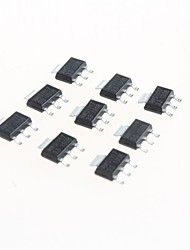 de energia do chip regulador ams1117-3.3v fanfarrão SOT223 regulador linear ic (20pcs)