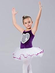Hauts / Robes et Jupes / TutuMousseline / Elasthanne / Tulle / Velours,Ballet / Spectacle)Ballet / Spectacle- pourEnfantTenues de Danse