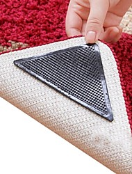 cheap -8 Pieces Amazing Reusable Washable Triangle Non Slip Skid Rug Grippers Carpet Mat Stickers