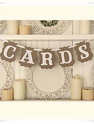 Anniversaire Enterrement de Vie de Jeune Fille Fête de naissance Papier cartonné Décorations de Mariage Thème classique Printemps Eté