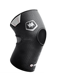 cheap -Reinforced Knee Support Sports Support Protective Boxing / Racing / Baseball / Winter Sports / Badminton Black