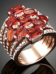 levne -Dámské Prsteny s kamenem Módní Velké šperky Zirkon Slitina Šperky Párty