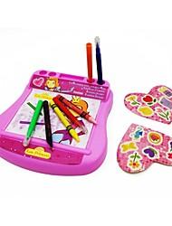 preiswerte -Kinder rosa Farbe Lernen Bildung wrting Handwerkskunst Bord
