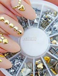 cheap -1pcs Rhinestones Nail Jewelry Decoration Kits Fashion Punk High Quality Daily