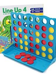 Недорогие -Линия до 4 настольная игра Family Fun образовательные игрушки