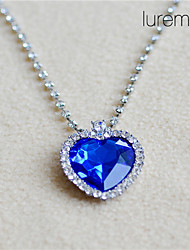 cheap -Women's Rhinestone Imitation Diamond Pendant Necklace  -  Love Movie Jewelry Necklace For Daily