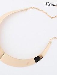 Недорогие -Жен. Ожерелья-бархатки - Серебряный, Золотой Ожерелье Бижутерия Назначение Для вечеринок, Повседневные