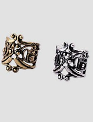 cheap -Men's Women's Ear Cuffs Hollow Costume Jewelry Gold Plated U Shaped Jewelry For Wedding Party Daily Casual