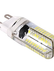 رخيصةأون -1PC 9 W 400 lm G9 أضواء LED ذرة T 80 الخرز LED SMD 3014 تخفيت أبيض دافئ / أبيض كول 110-130 V