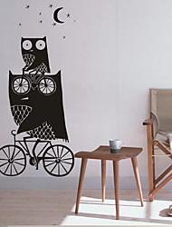 настенные наклейки наклейки на стены, домашний декор сова сказка питомник пвх росписи стены стикеры