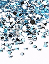 billige -10000 pcs Negle Smykker Rhinestones Smuk Neglekunst Manikyr pedikyr Daglig Frukt / Blomst / Abstrakt / Tegneserie / Nail Smykker