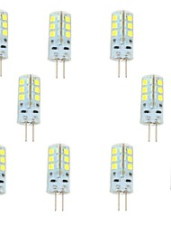 2.5W G4 LED Bi-pin Lights 24 SMD 2835 200-250 lm Warm White Cold White 6000-6500 K DC 12 V