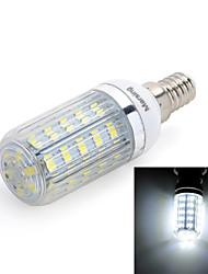 E14 LED Mais-Birnen T 36 Leds SMD 5730 Kühles Weiß 420lm 6000-6500K AC 220-240V