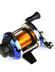 Stainless Steel Spinning Fishing Reel with Nylon Line