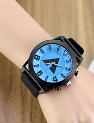cheap -Women's Quartz Wrist Watch Hot Sale Silicone Band Charm Unique Creative Watch Dress Watch Fashion Black