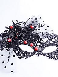Недорогие -gothnic заявление моде женщины Хэллоуин маска партия подарок