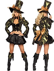 Movie/TV Theme Costumes Cosplay Costumes Party Costume Female Halloween Festival/Holiday Halloween Costumes Solid