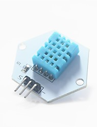 Digital Temperature / Humidity Measuring Test Module for Arduino - White + Blue