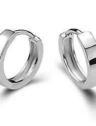 cheap -Men's Women's Stud Earrings Costume Jewelry Silver Sterling Silver Jewelry For Wedding Party Daily Casual