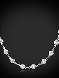 cheap -Women's Stainless Steel Chain Necklace Vintage Necklace  -  Love Fashion Necklace For Wedding Party Daily