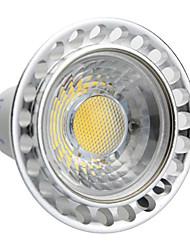 baratos -GU10 Lâmpadas de Foco de LED MR16 COB 240-270 lm Branco Quente AC 100-240 V