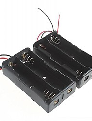 cheap -Battery Box for 18650 Batteries(2pcs)