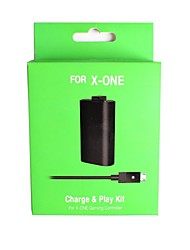 cheap -Rechargeable Battery Pack with USB to DC Charging Cable for Microsoft Xbox One Wireless Controller