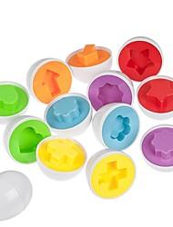 Недорогие -6eggs / комплект смешанной формы мудрый вид, ломать умные яйца ребенка ребенок учится кухня Игрушки Инструмент
