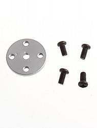 Недорогие -маленький диск 25т стандарт сервопривода универсальная металлическая сошки робот специальный MG995 стандарт mg996 (2шт)