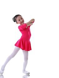 baratos -Roupas de Dança para Crianças / Balé Vestidos Treino Algodão Manga Longa Natural Princesa
